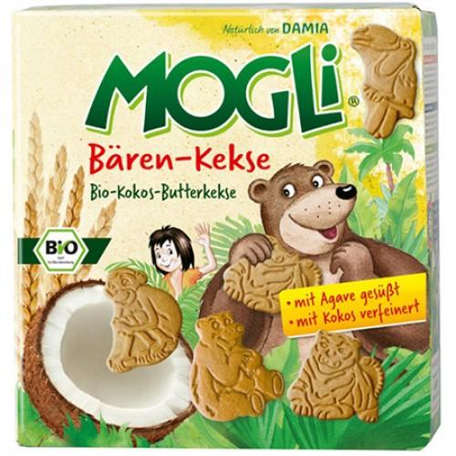 Βιολογικά παιδικά μπισκότα Καρύδας χωρίς ζάχαρη 125gr