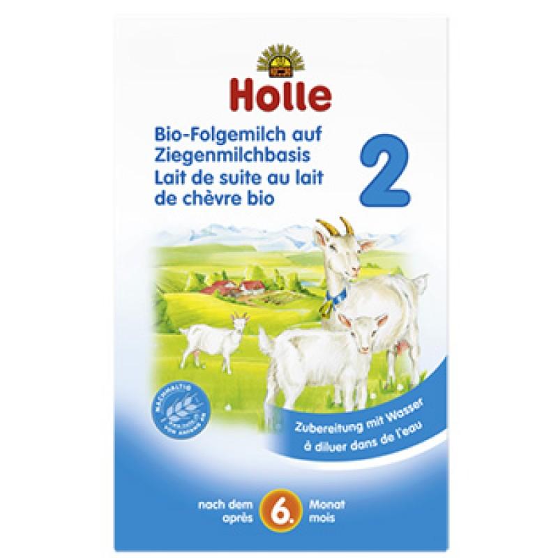 """Βιολογική παιδική τροφή από Κατσικίσιο γάλα (από 6 μηνών) """"Holle"""" 400gr"""