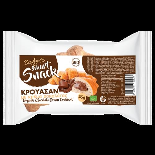 Βιολογικό Κρουασάν με γέμιση Σοκολάτας 45gr