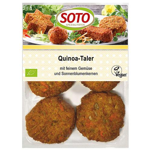 "Vegan mini Burger με Κινόα ""SOTO"" 195gr"