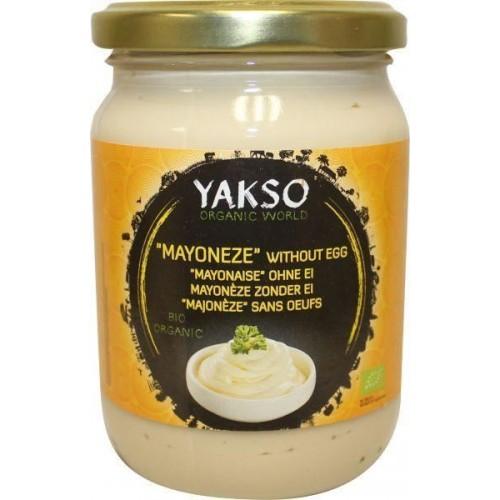 """Βιολογική Μαγιονέζα Vegan χωρίς αυγό """"YAKSO"""" 240gr"""