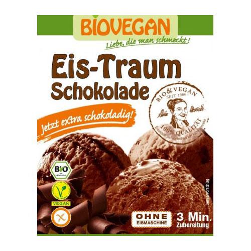 """Βιολογικό μείγμα παγωτού Σοκολάτα """"Biovegan"""" 89gr"""