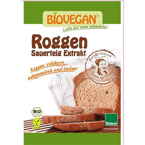 """Βιολογικό Προζύμι σίκαλης """"Biovegan"""" 30gr"""