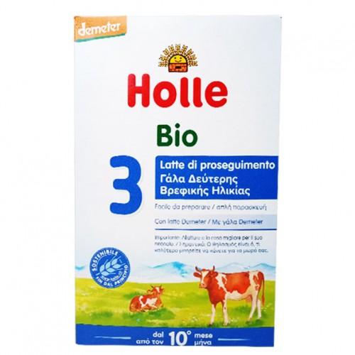 """Βρεφικό γάλα Νο3 απο 10 μηνών """"Holle"""" 600gr"""