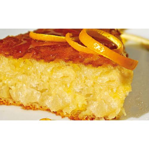 """Παραδοσιακή Πορτοκαλόπιτα σε ταψάκι """"Το Ζυμαράκι"""" 500gr"""