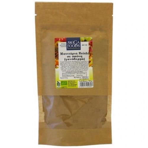 Βιολογικά μανιτάρια σκόνη Γανόδερμα 100gr