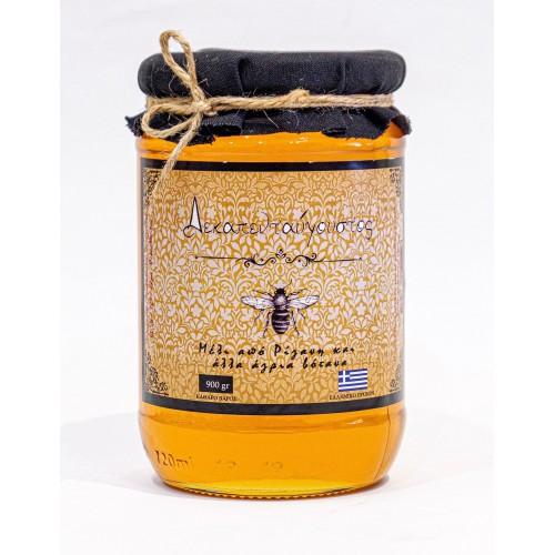 """Μέλι από Ρίγανη και άγρια βότανα """"Δεκαπενταύγουστος"""" 1kg"""
