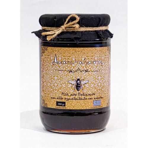 """Μέλι από Πολύκομπο και αγριολούλουδα """"Δεκαπενταύγουστος"""" 1kg"""