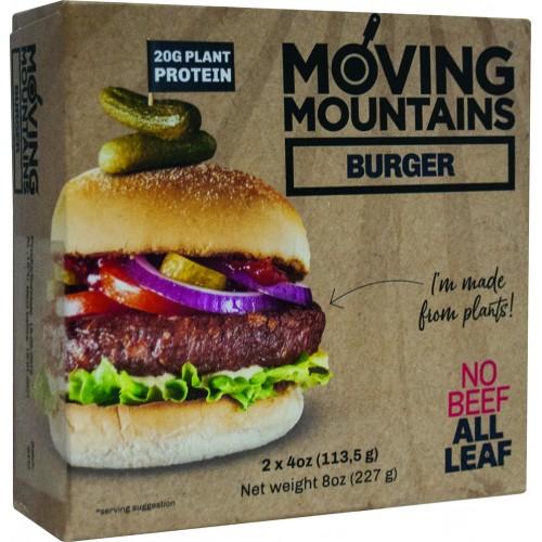 """Βιολογικά Vegan Burgers με βιταμίνη Β12 """"Moving mountains"""" 225gr"""