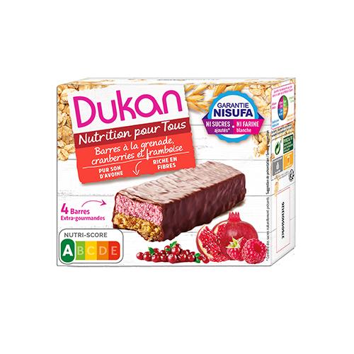 Γκοφρέτες Βρώμης με σοκολάτα & μούρα DUKAN 120gr