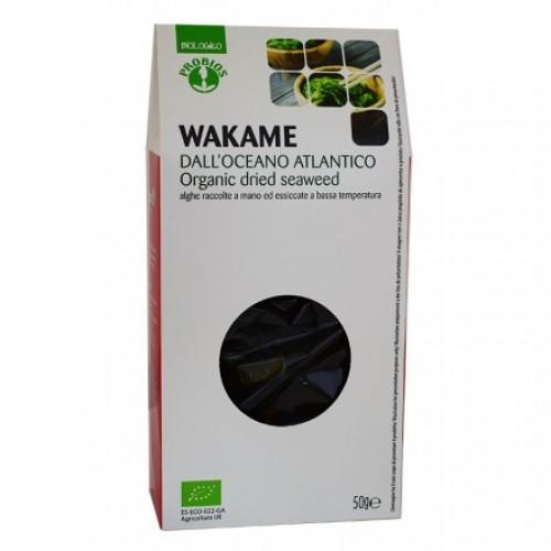 Βιολογικά φύλλα Wakame Ατλαντικού 50gr