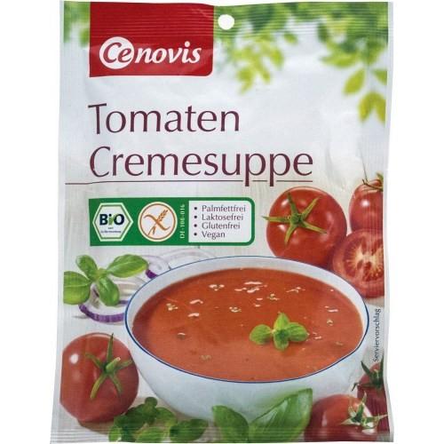 """Βιολογική σούπα τομάτας βελουτέ """"Dennree"""" 40gr"""