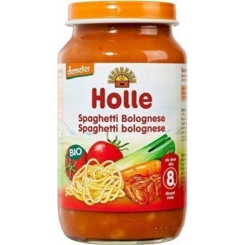 """Βιολογικό παιδικό γεύμα σπαγγέτι Μπολονέζ Demeter (από 8 μηνών) """"Holle"""" 220gr"""