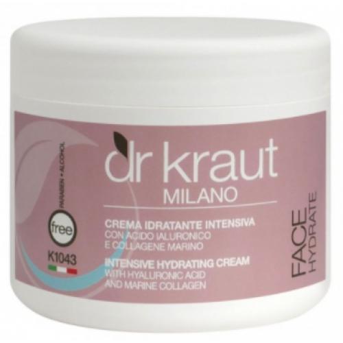 Dr Kraut Milano Αντιρυτιδική Κρέμα Με Υαλουρονικό Οξύ Κολλαγόνο Και Ελαστίνη 500ml