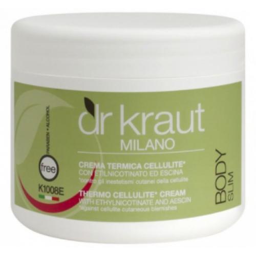 Dr Kraut Milano Θερμαντική Κρέμα Κυτταρίτιδας 500ml