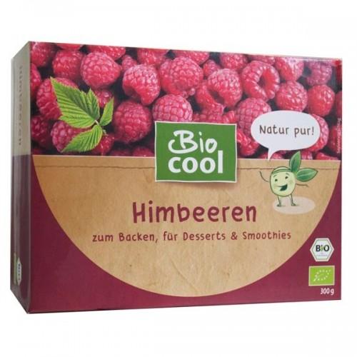 """Βιολογικά Σμέουρα (Raspberries) κατεψυγμένα """"Biocool"""" 300gr"""