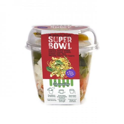 """Σαλάτα με νουντλς ρυζιού, κάσιους & φρούτα του πάθους (έτοιμη για κατανάλωση) """"Φρεσκούλης"""" 210gr"""
