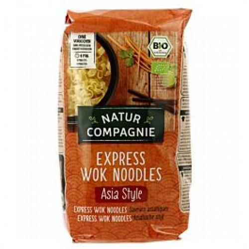 """Βιολογικά Νουντλς (Wok Noodles) """"Nature Compagnie"""" 250gr"""