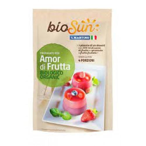 """Βιολογικό Ζελέ φρούτων χωρίς γλουτένη """"BioSun"""" 62gr"""