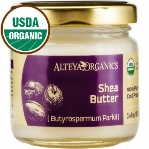 Βιολογικό Βούτυρο Καριτέ Ψυχρής Έκθλιψης / Organic Shea Butter 100ml