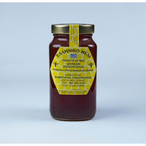 Μέλι από Βότανα & Αγριολούλουδα (Ταϋγέτου) 1kg