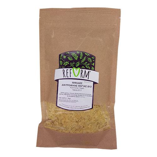 Νιφάδες διατροφικής μαγιάς βιταμίνη Β12 100gr