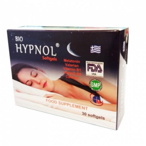 Για ήσυχο ύπνο - Hypnol Medichrom 30 κάψουλες