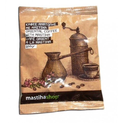 """Καφές Ανατολής με Μαστίχα """"Μαστίχα Χίου"""" 100gr"""