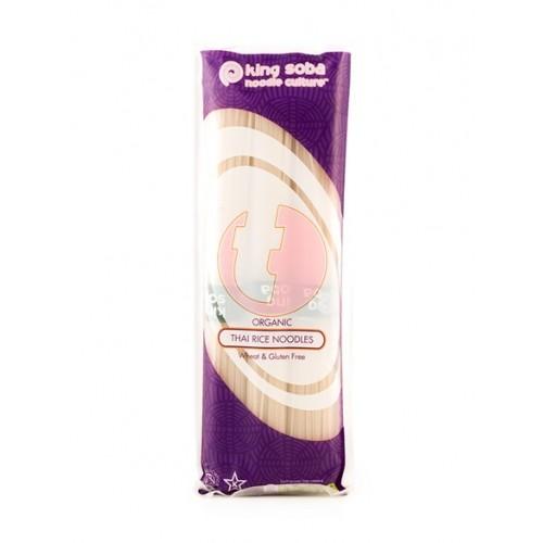 """Νούντλς από Ταϊλανδέζικο ρύζι bio """"King Soba"""" 250gr"""