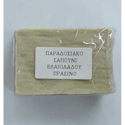 Σαπούνι Ελαιόλαδου Πράσινο Παραδοσιακό Bio 150gr