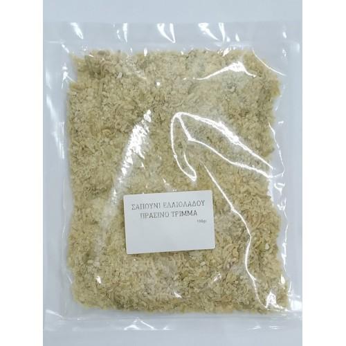 Σαπούνι Ελαιόλαδου Πράσινο Τρίμμα Bio 150gr
