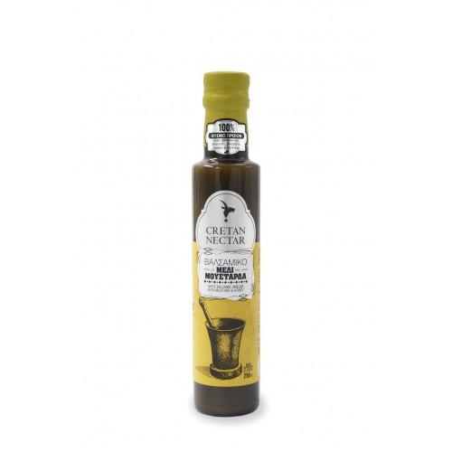 """Βαλσάμικο με Μέλι και Μουστάρδα """"Cretan Nectar"""" 250ml"""