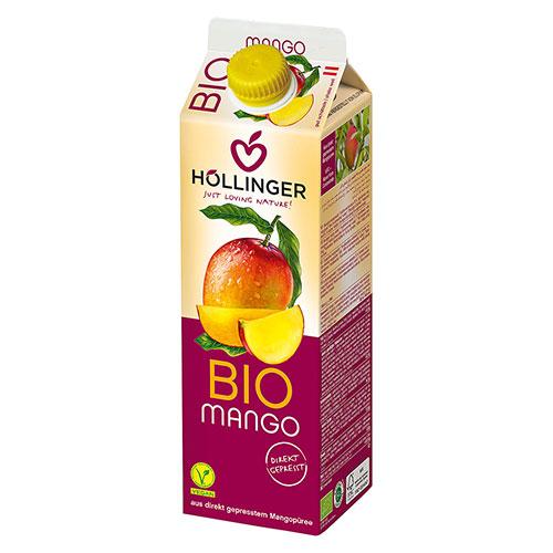 """Βιολογικός Χυμός Μάνγκο """"Hollinger"""" 1Lt"""