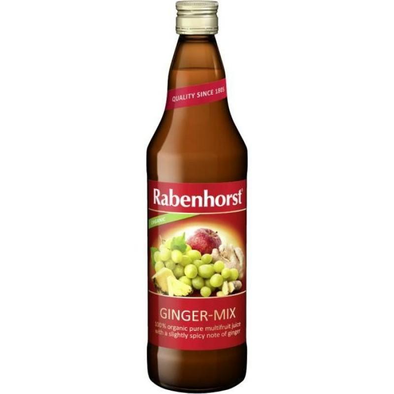 """Βιολογικός Χυμός Τζίντζερ-Mix """"Rabenhorst"""" 750ml"""