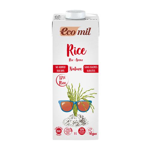 Βιολογικό Ρόφημα Ρυζιού ecomil 1Lt