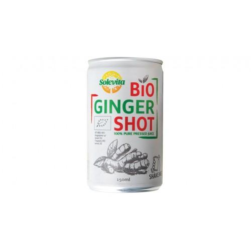Χυμός Τζίντζερ Bio Ginger Shot  Solevita 150ml