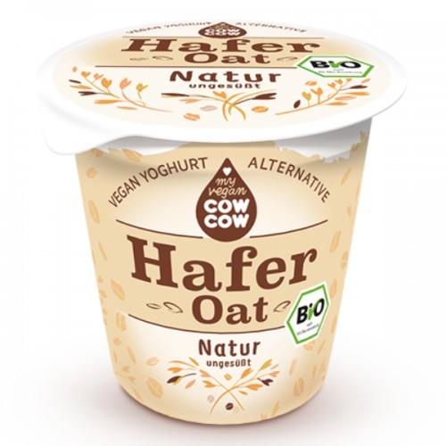 """Βιολογικό επιδόρπιο βρώμης με γεύση καφέ VEGAN """"Cow cow"""" 150gr"""